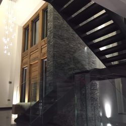 Bespoke Architectural Staircase Glass and Wooden