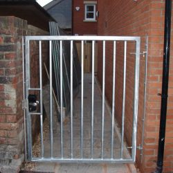 Galvanised Bespoke Gate