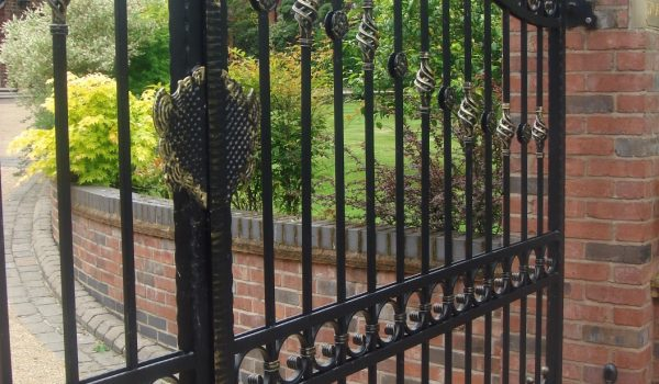 Bespoke Wrought Iron Gates