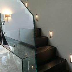 Bespoke Glass Backlit Staircase