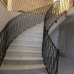 Bespoke Mansion Spiral Staircase