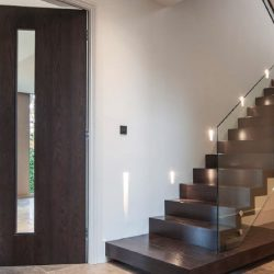 Architectural Staircase Glass and Metal